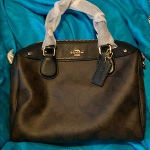 Coach mini BNT with strap